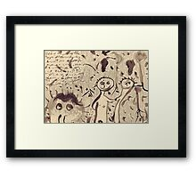 These Mystics Name The Bee Framed Print