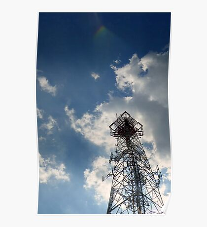 Telecommunication Tower, Austin Poster
