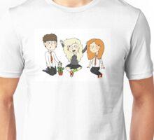 The Silver Trio (Neville, Luna, Ginny) Unisex T-Shirt