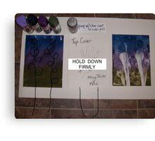 PULL STRING ART DEMO Canvas Print