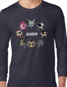 Saga Puffs Parody Long Sleeve T-Shirt