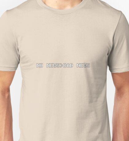 geek no news bad news Unisex T-Shirt