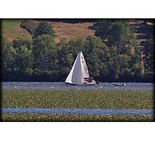 Hudson Saturday Sailing Photographic Print