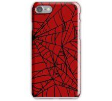 Crimson Web iPhone Case/Skin