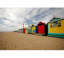 Brighton Beach - Melbourne Photographic Print