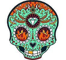 Calavera Skull XXXVII Photographic Print