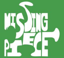 missing piece - white Kids Clothes