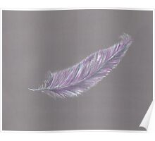 Guardian Angel Feather Poster