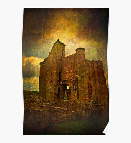 Medieval Edlingham Poster