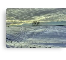 The Tree In Winter Canvas Print