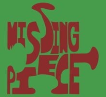 missing piece - red Kids Clothes