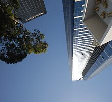 Melbourne - Eureka Tower by victoria  tansley