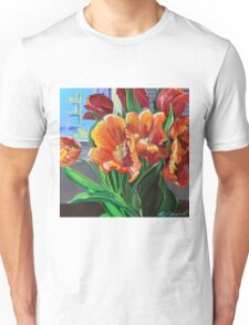 Tulips in the Window Unisex T-Shirt