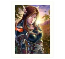 Assasin_ WoW Art Print
