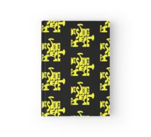 missing piece - yellow Hardcover Journal