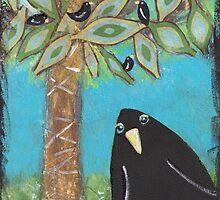 Blackbird Paradise by mazerdesign