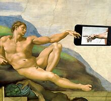 The Creation Of Adam 2.0 by Mythos57
