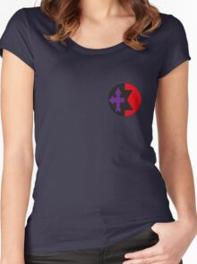 Clintasha symbol Women's Fitted Scoop T-Shirt