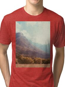 Mountains in the background V Tri-blend T-Shirt