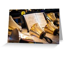 Ready to Ring (Low Bass Handbells) Greeting Card