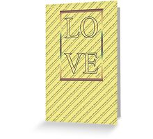 Happy Valentine's Day - Typography, love Greeting Card