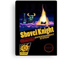 Shovel Knight NES Canvas Print