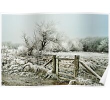 Frosty Gate, Formby Poster