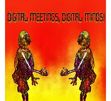 Digital Meetings! Photographic Print
