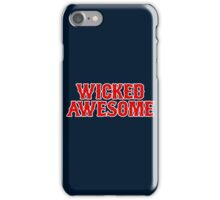 WICKED AWESOME iPhone Case/Skin