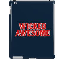 WICKED AWESOME iPad Case/Skin