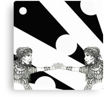Mirror, Mirror! Canvas Print