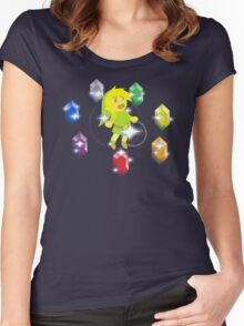 Chaos Rupees Women's Fitted Scoop T-Shirt