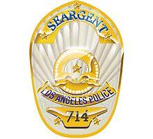 police badge Photographic Print