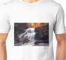 Fading October Daylight at Shawnee Falls Unisex T-Shirt