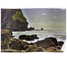 """Seascape New Zealand"" Poster"