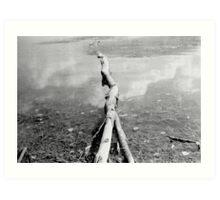 Almond Lake, NY Art Print