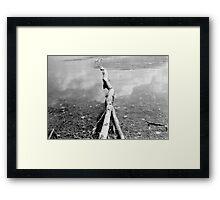 Almond Lake, NY Framed Print