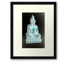 Abstract Buddha Framed Print