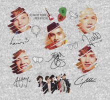 ONE DIRECTION - Autograph Style by ArtPower