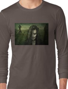 She walks the night searching for her next victim Long Sleeve T-Shirt