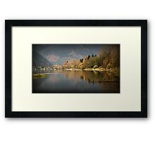 Resting Ducks in the Fall Framed Print