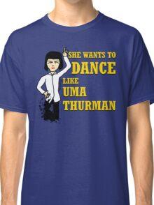 Uma Thurman Classic T-Shirt