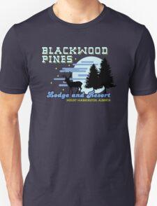 Until Dawn - Blackwood Pines Lodge Unisex T-Shirt