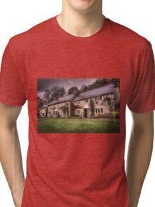 Stourhead Cottages Tri-blend T-Shirt