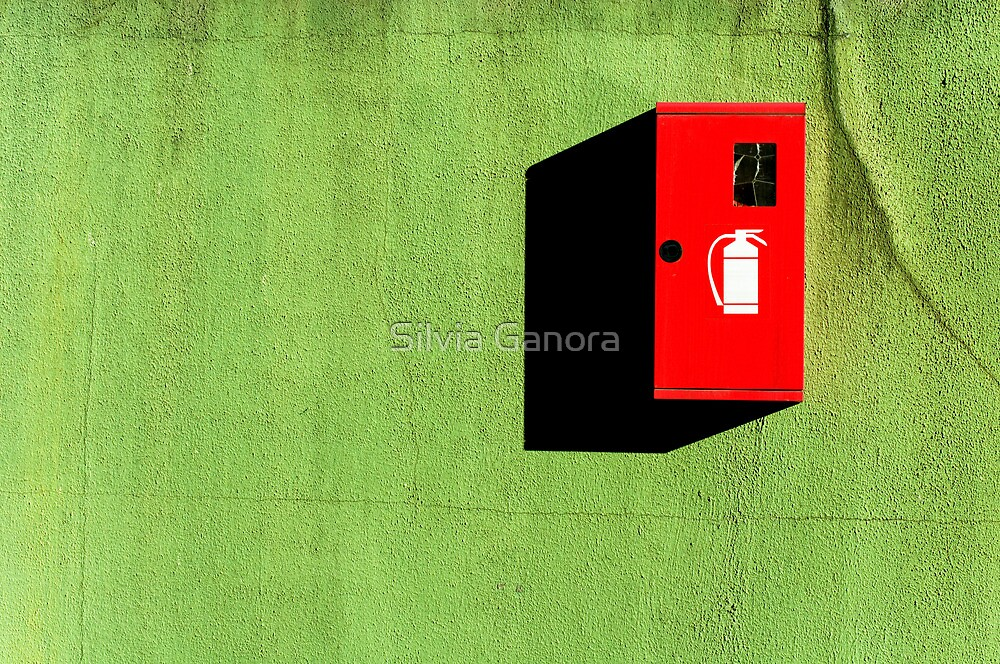 Red :: Green :: Black Shadow by Silvia Ganora