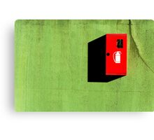 Red :: Green :: Black Shadow Canvas Print