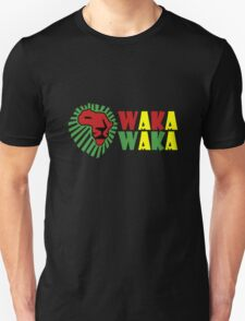 Red lion green mane waka waka geek funny nerd Unisex T-Shirt