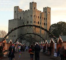 Rochester Christmas Markets  by Corrine Symons