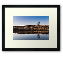 Tranquil Reflected Framed Print