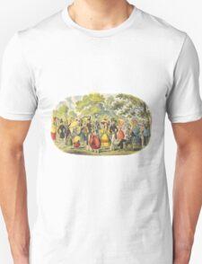 1800's Kensington Gardens scene  T-Shirt